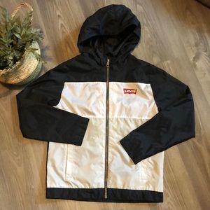 LIKE NEW LEVI'S Rain jacket with hood